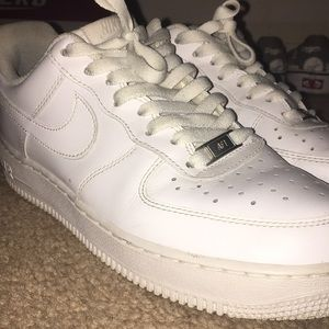 Used Air Force 1's size:8.5